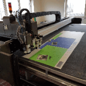 Б/У принтер Mastercut MultiTech flatbed plotter